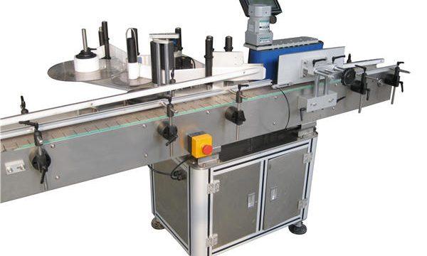 Automaatne kleebis ümmarguse pudeli märgistamise masina tootja