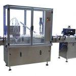 Pudeli automaatse täitmise korkimis- ja märgistusmasin