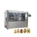 Automaatne klaaspurgi mett täitev korkimismasin