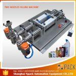 Poolautomaatne vahtmaterjalist söövitava vedeliku täitmise masin