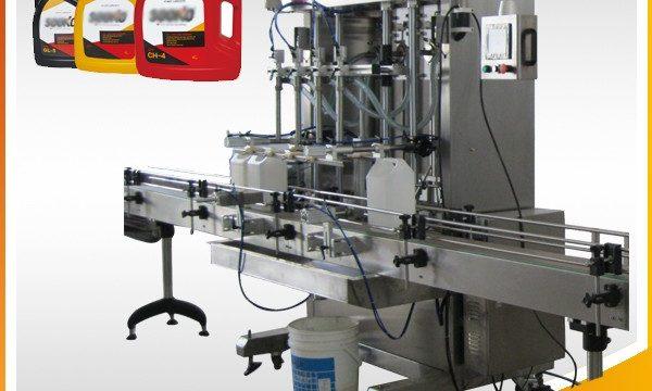 500ml-2L automaatne vedelike pesuvahendi täitmise masin / pesuvedeliku täitmise masin