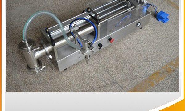 Poolautomaatne kolbtäidismasin Ideaalne õli täitmise masin