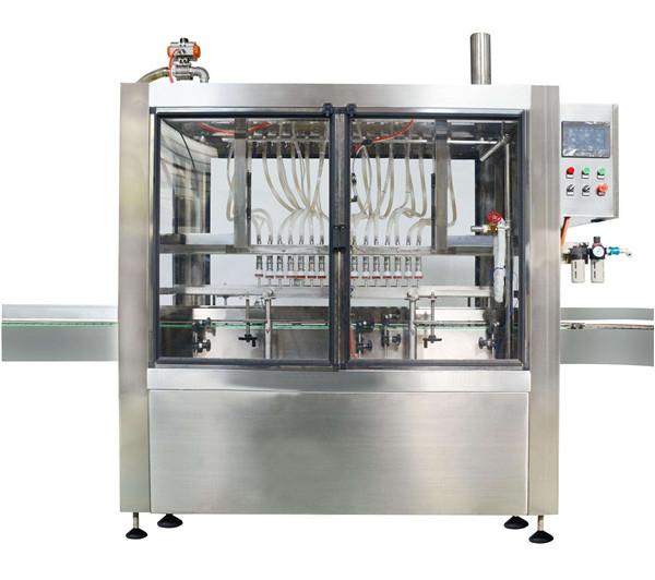 Täisautomaatne 10 pead kosmeetiline kreemimoosi täitmise masin