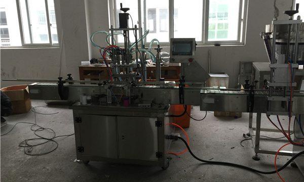 Automaatne kolbvedeliku täitmise masin 50ml kuni 1L