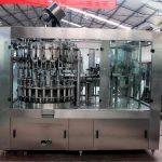Automaatne roostevabast terasest vedeliku täitmise masin õli / puhastatud vee jaoks