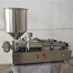 Poolautomaatne käsitsi õlitäitmise masin kosmeetika
