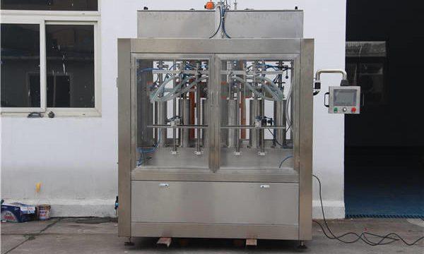 Automaatne moosipudeli täitmise masin