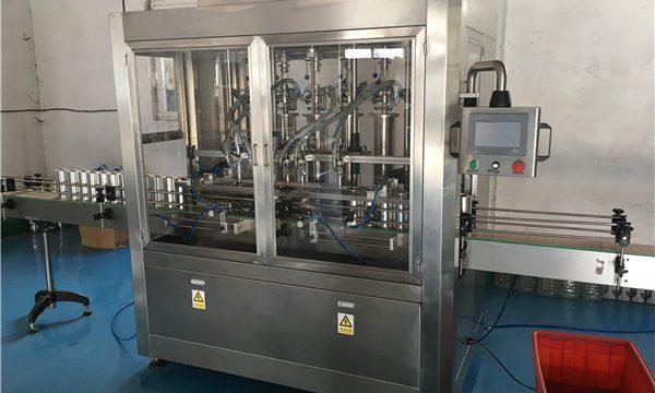 Klaaspudelikastme täitmise masin