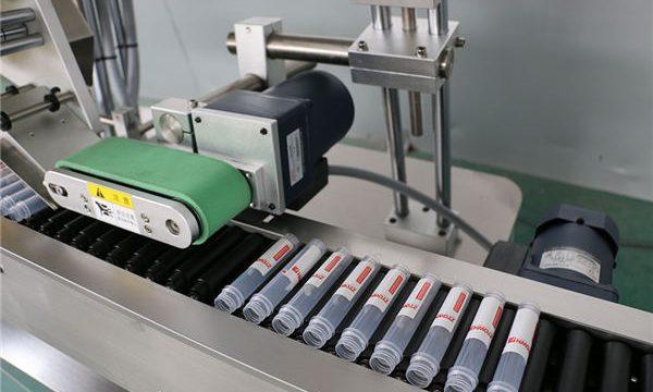 Horisontaalse automaatse süstimisega viaali märgistusmasin