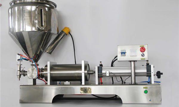 Puhas pneumaatiline poolautomaatne puuviljamoosi täitmise masin