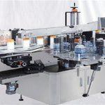 Klaasist parfüümipudelite pealmine pealispinna etiketi masin