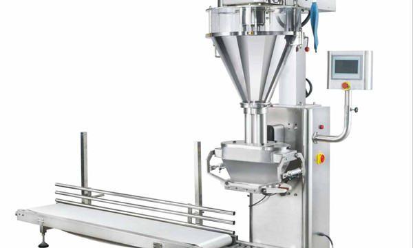 Poolautomaatne piimapulbri täitmise masin