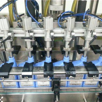 6-pealine automaatne mootoriõli täitmise masin