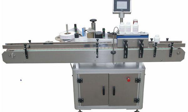 Automaatne kahepoolse märgistusega masin lemmikloomade plastikust klaaspudelile