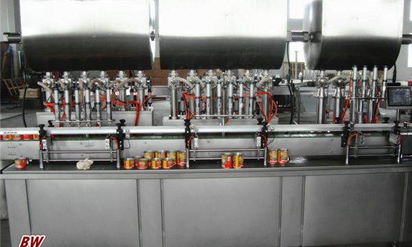 Automaatne kuuma pitsa kastme täitmise masin