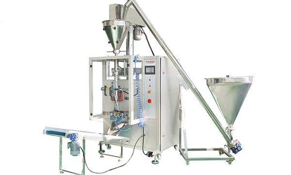 Vertikaalne automaatne pulbri täitmise ja tihendamise masin