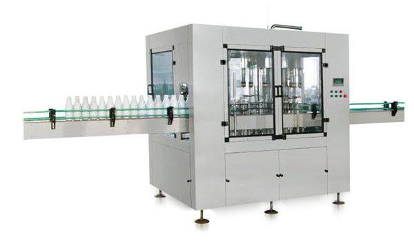 Kaheksapeaga automaatne lineaarse kolbvedeliku seebi täitmise seade