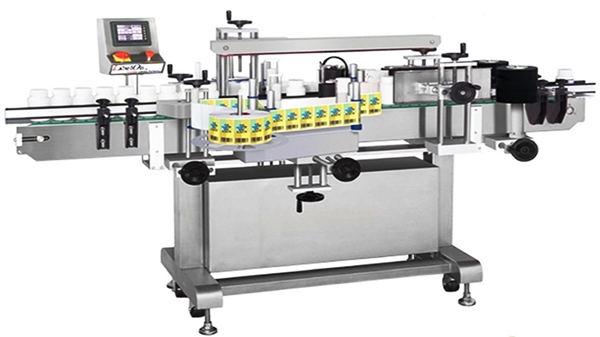Automaatne kahepoolse klaaspudeli märgistamise masin