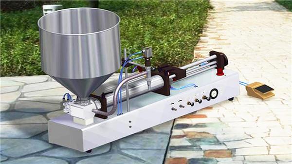 Poolautomaatne vertikaalne hambapasta täitmise masin