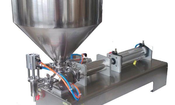 Tehasehinnaga manuaalne pneumaatiline pasta täitmise masin