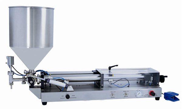 Poolautomaatne pasta täitmise masin 3mL-5L jaoks