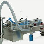Kvaliteetne poolautomaatne kolbtäidismasin - uus disain