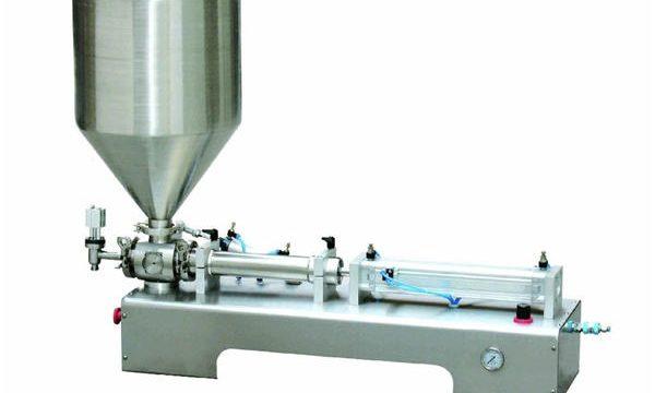 Pneumaatiline kolbtäidise masin, paksu kreemkolbtäidise masin